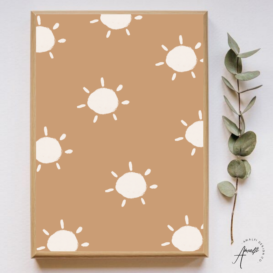 Buy SUN RAYS PRINT SET- INSTANT DOWNLOADfrom Amalfi Boutique