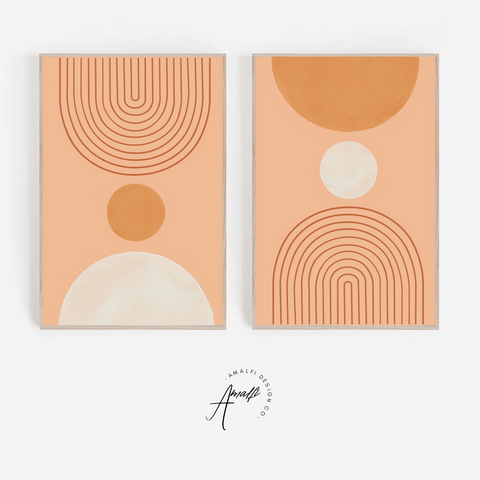 THE HALVED SUN PRINT SET- INSTANT DOWNLOAD