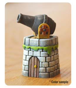 Cannon Tower Miniature