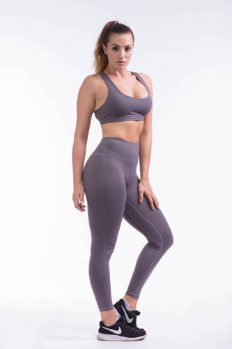 BARE IN MIND LEGGINGS - GREY - hustletics.com