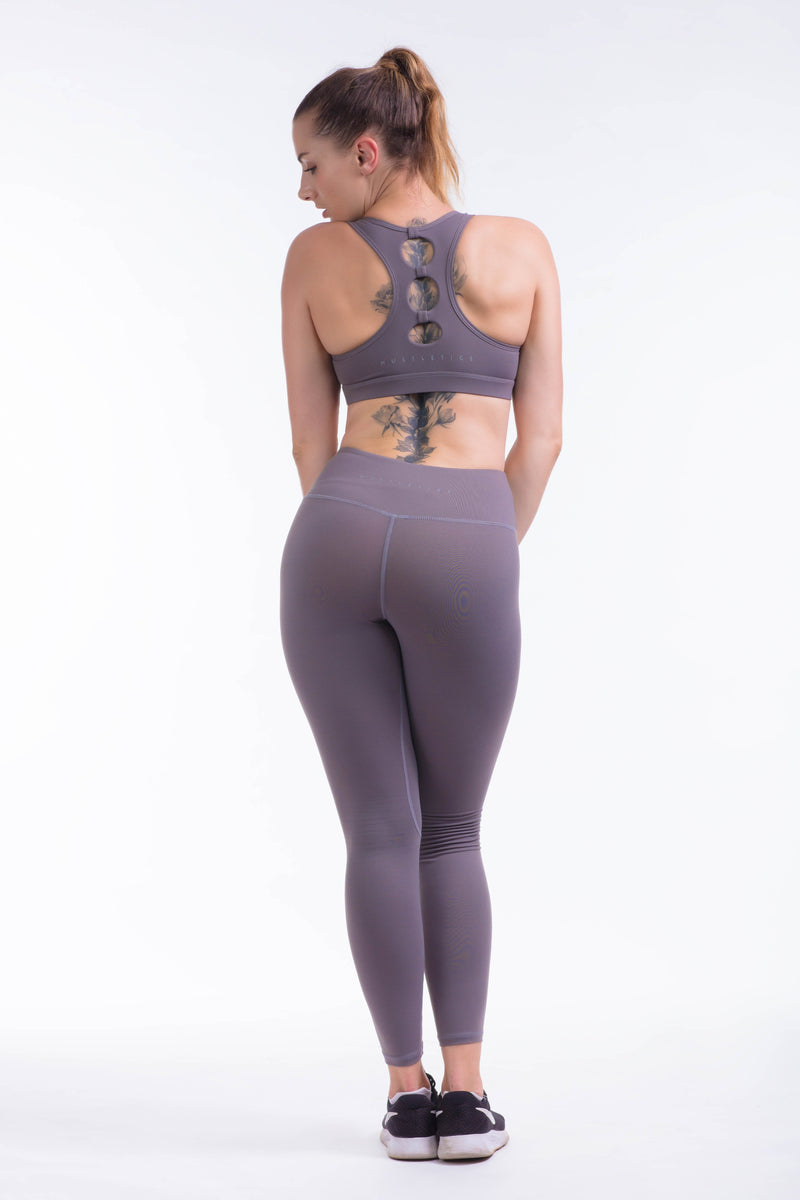 BARE IN MIND LEGGINGS - GREY