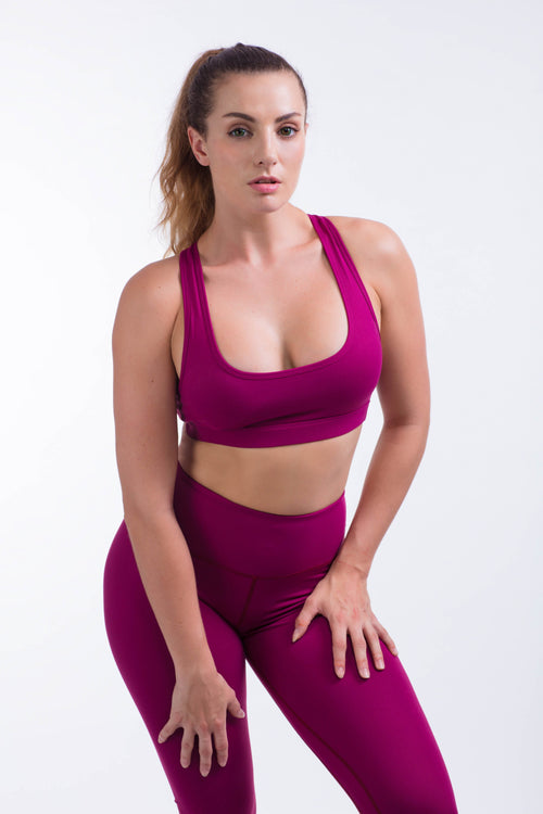 BARE IN MIND BRA - MAGENTA
