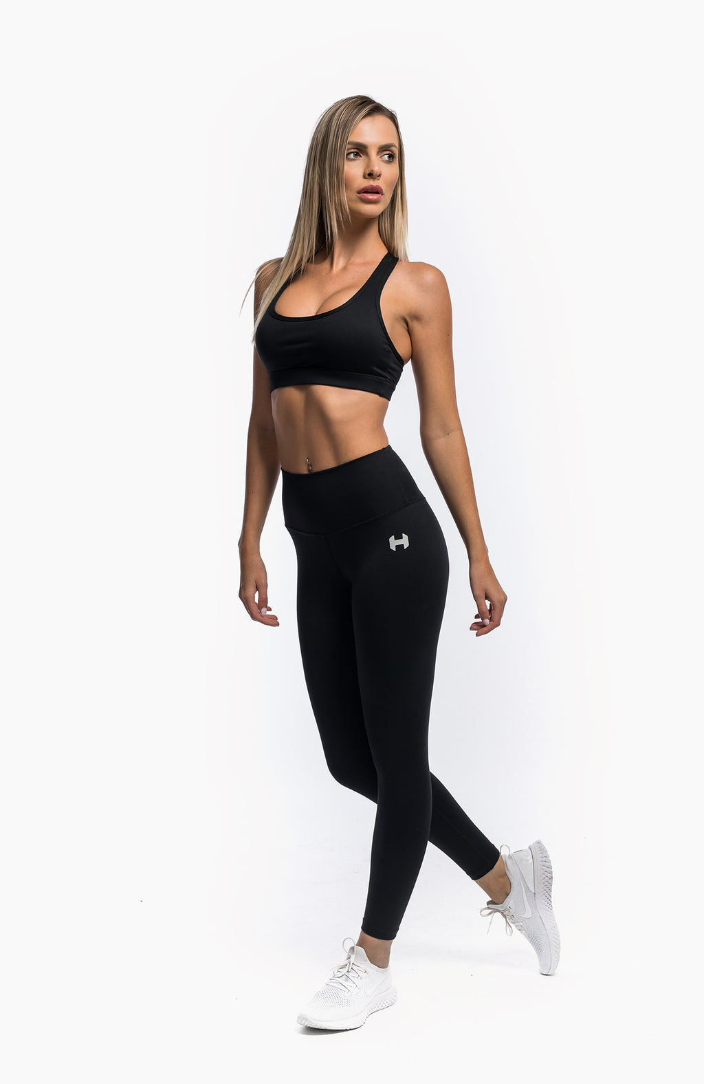 FLOW BRA - BLACK
