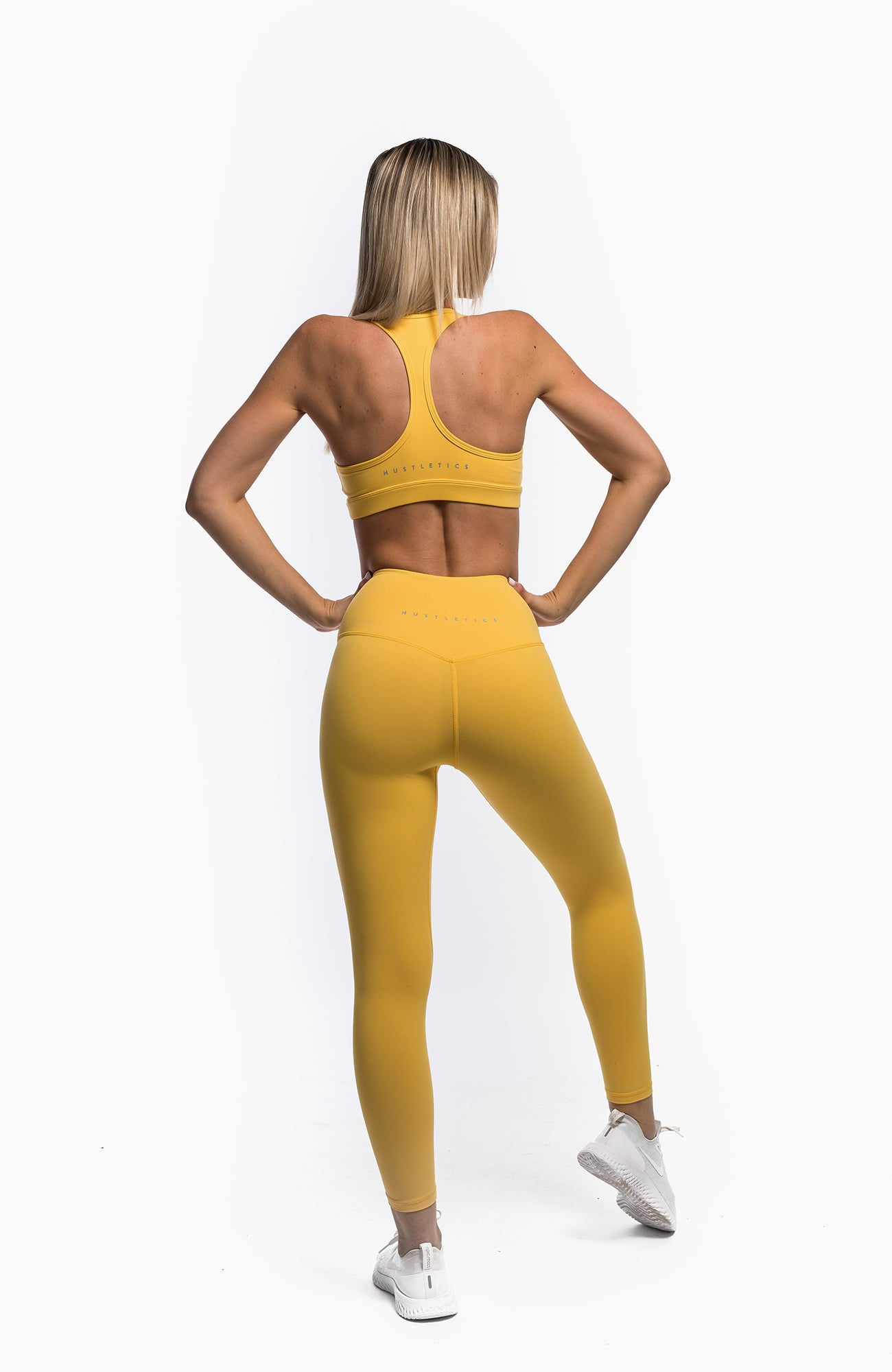 FLOW LEGGINGS - BUMBLEBEE - hustletics.com