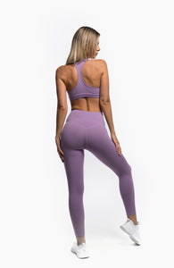 FLOW LEGGINGS - LILAC - hustletics.com