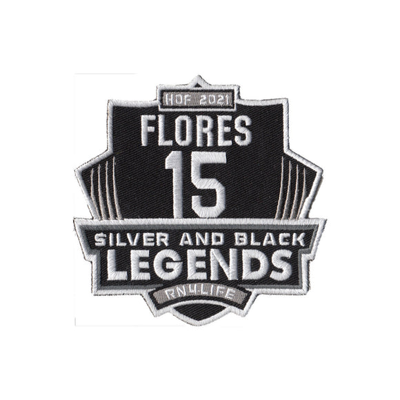 Silver and Black Legends - Flores Hall Fame patch - PREORDER