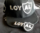 LoyAL AF Snapback with 3d puff iron/sew on patch