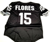Silver and Black Legends - Flores V Neck HOF Jersee