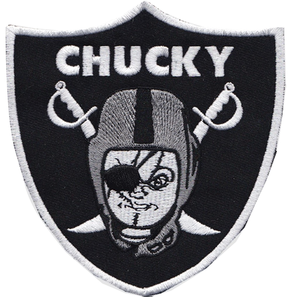 Chucky Raiders Patch