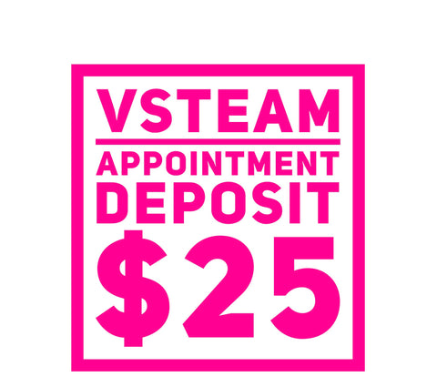 VSteam Appointment Deposit