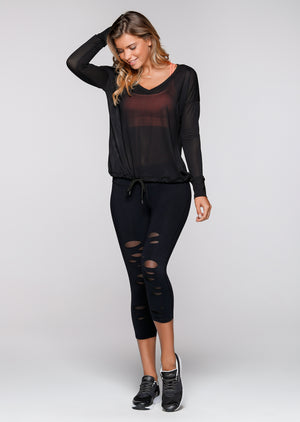 Escape L/Slv Excel Top