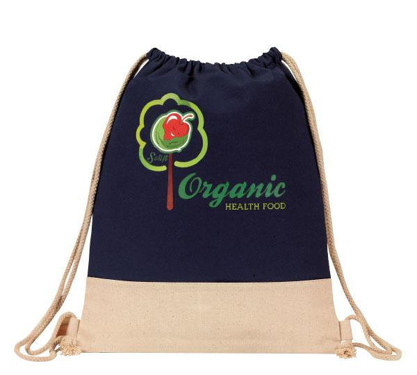 Go-Green Drawstring Duffle - PhysxPromotions