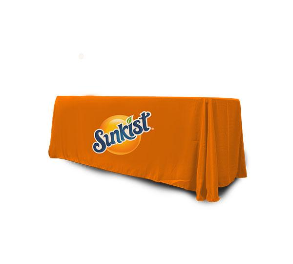 4' Fully Sublimated Loose Table Throw - PhysxPromotions