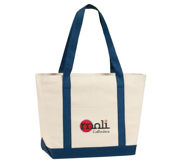 Two-Tone Carry-All Tote - PhysxPromotions