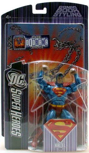 DC Superheroes Mattel Select Superman Comic Book Styling Action Figure 1