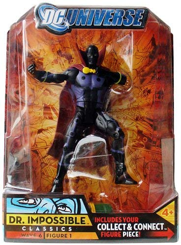 DC Universe Dr. Impossible The Classics Series Action Figure 1