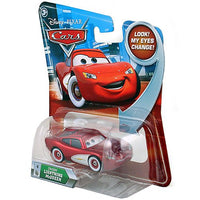 Disney / Pixar CARS Movie 1:55 Die Cast Cruisin' Lightning McQueen #4 w/ Lenticular Eyes!