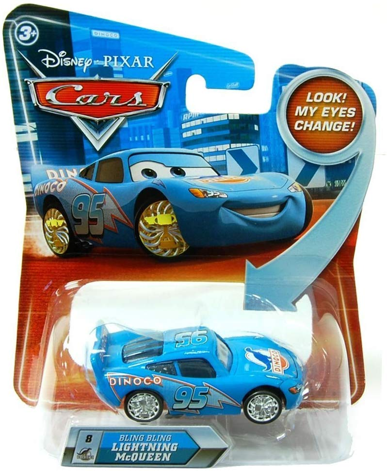 Disney Pixar Cars Movie Bling Bling McQueen #8 1