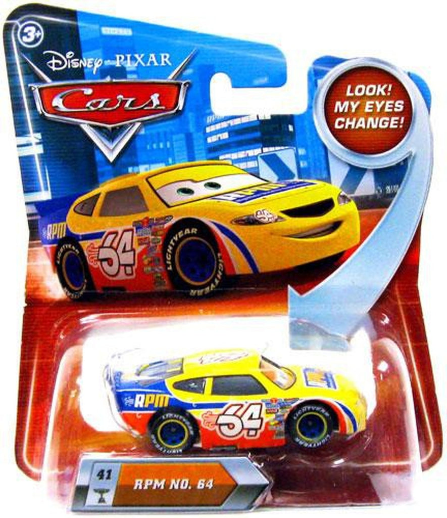 Disney Pixar Cars Movie RPM No. 64 #41 1