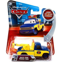Disney Pixar CARS Movie 1:55 Die Cast Race Tow Truck Tom #155 w/ Lenticular Eyes!