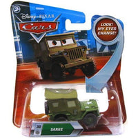 Disney / Pixar CARS Movie 1:55 Die Cast Sarge #30 w/ Lenticular Eyes!