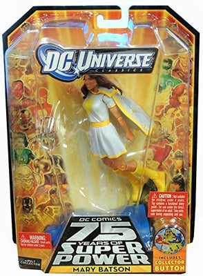 DC Universe Mary Batson (White Variant) 75 Years of Super Powers Series