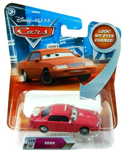 Disney / Pixar CARS Movie 1:55 Die Cast Vern #119 w/ Lenticular Eyes!