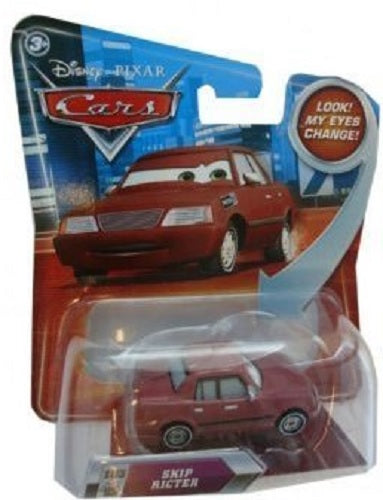Disney / Pixar CARS Movie 1:55 Die Cast Skip Ricter #103 w/ Lenticular Eyes!