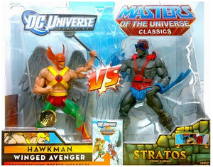 DC Universe Vs. Masters of the Universe Hawkman Vs. Stratos 2-Pack Action Figure