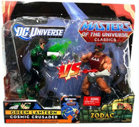 DC Universe Vs. Masters of the Universe Green Lantern Vs. Zodac 2-Pack Action Figure