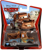 Disney Pixar CARS 2 Movie 1:55 Die Cast Race Team Mater #1 1