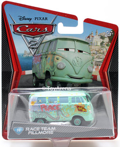 Disney Pixar Cars 2 Movie #14 Fillmore Race Team