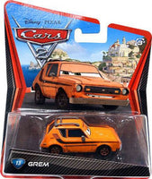 Disney Pixar CARS 2 Movie 1:55 Die Cast Grem #13 1