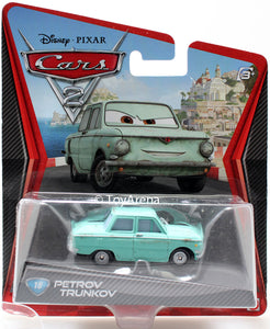 Disney Pixar Cars 2 Movie #18 Petrov Trunkov