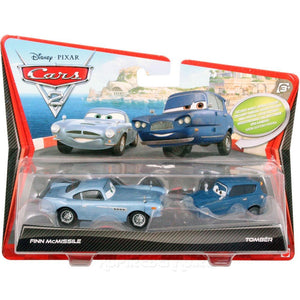 Disney Pixar Cars 2 Movie Fin Mc Missile and Tomber 1