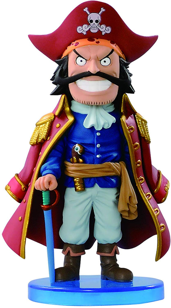 Banpresto One Piece Roger Mini World 2.5 inch Collectible Action Figure 1