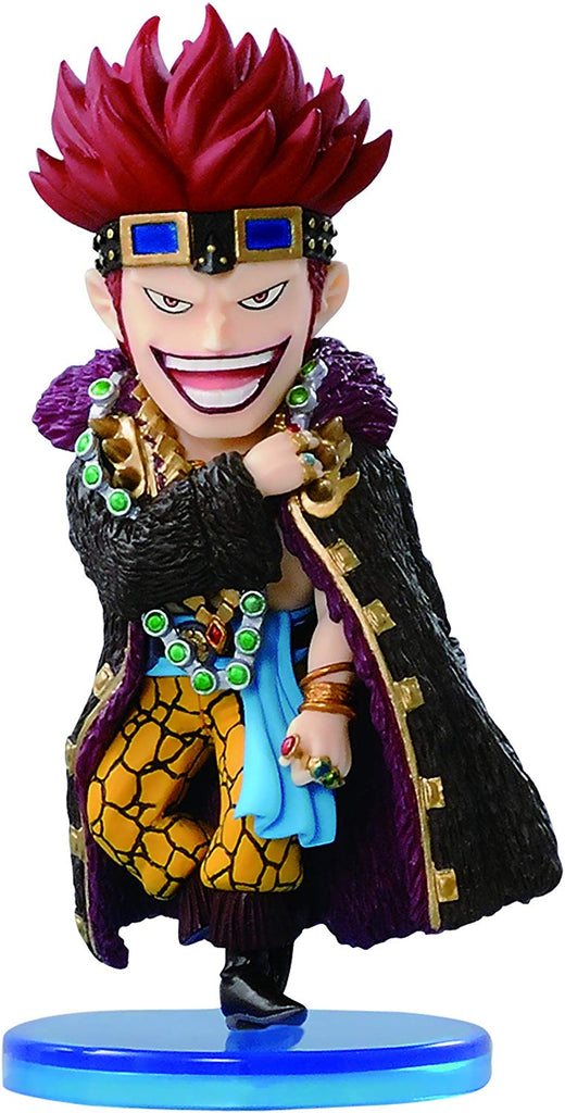 Banpresto One Piece Eustrass Kidd Mini World 2.5 inch Collectible Action Figure 1