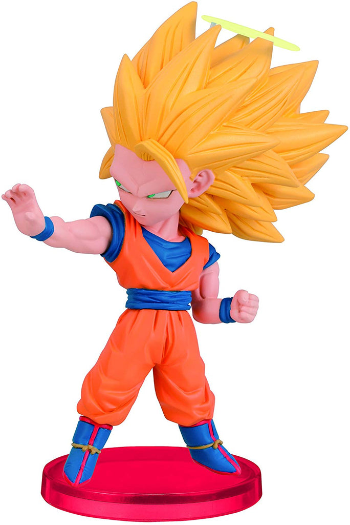 Banpresto Dragonball Z Majin Super Saiyan Goku 3 Burst World Collectible Action Figure 1