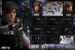 Damtoys 1/6 Resident Evil 2 RE2 Leon S. Kennedy DMS030 Sixth Scale Figure