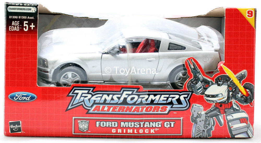 Transformers Alternators #09 Grimlock - Ford Mustang GT Shelf Wear