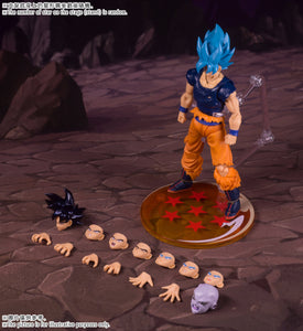 Demoniacal Fit Possessed Horse Tenacious Martialist Ultra Instinct SSGSSB Blue Goku Action Figure