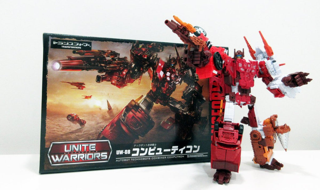 Transformers Unite Warriors UW-08 Computron (Computicon) Technobots Gift Set