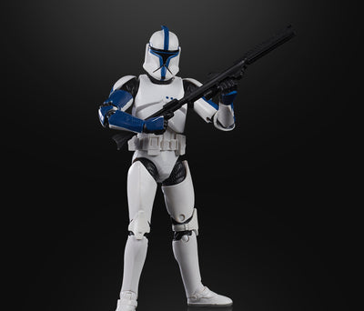 Hasbro Star Wars Black Series Clone Trooper Phase 1 Lieutenant 6 Inch Action Figure Exclusive