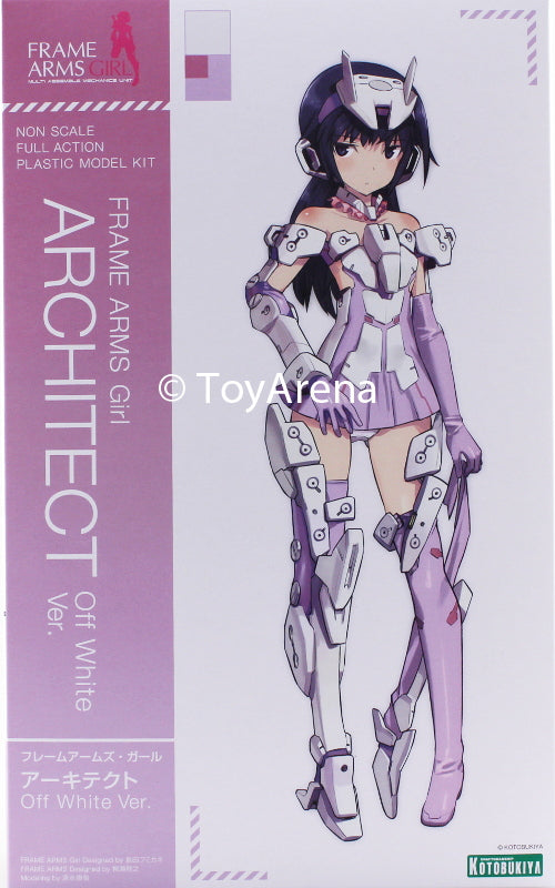 Kotobukiya Frame Arms Girl Architect (Off White Ver.) Model Kit FG030