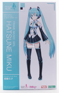 Kotobukiya Frame Music Girl Hatsune Miku Model Kit FG059