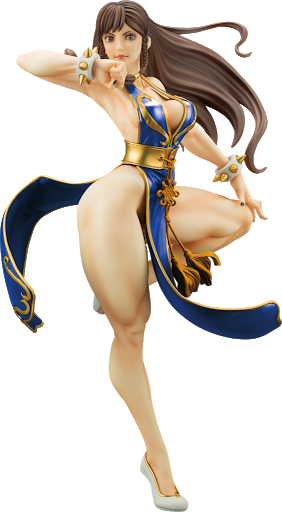 Kotobukiya NYCC 2018 Chun Li Battle Costume Limited Edition Street Fighter Bishoujo Statue SV238 Exclusive