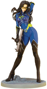 Kotobukiya Bishoujo G.I. Joe Baroness (Blue Color) 25th Anniversary Limited Edition Exclusive Statue Figure SV268