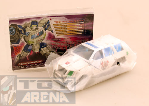 Botcon 2012 Transformers Exclusive Shattered Glass Soundwave Invasion