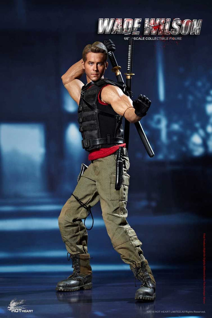 Hot Heart 1/6 FD003 Wade Wilson Action Figure