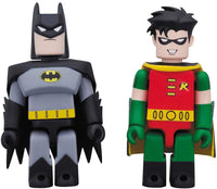 DC Collectibles DC Comics Kubrick Batman and Robin Animated Series Action Figure set 1